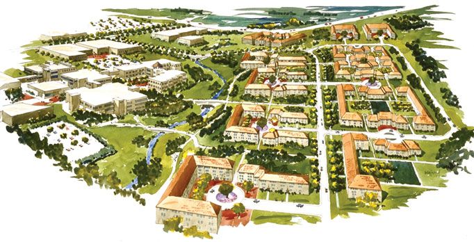 university of texas at dallas campus master plan | architecture
