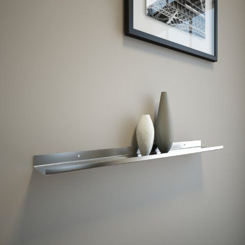 Stainless Floating Shelves Awesome Stainless Steel Floating Ledge For Photo And Picture 35 Httpwww Inspiration