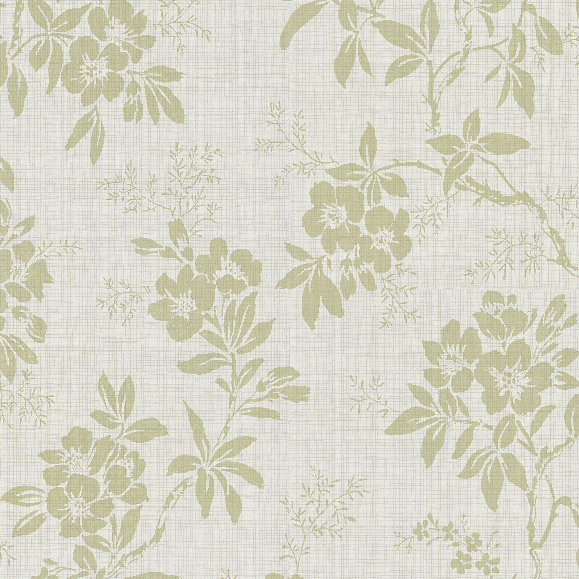 Vera Green Kitchen Wallpaper Wallpaper Prints