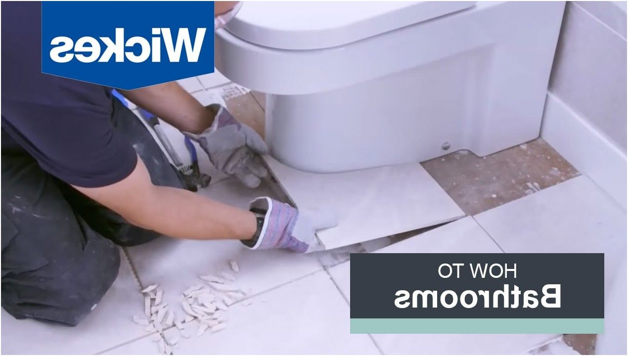 How To Tile Around A Toilet With Wickes Youtube From How To Tile A Bathroom Floor Around A Toilet