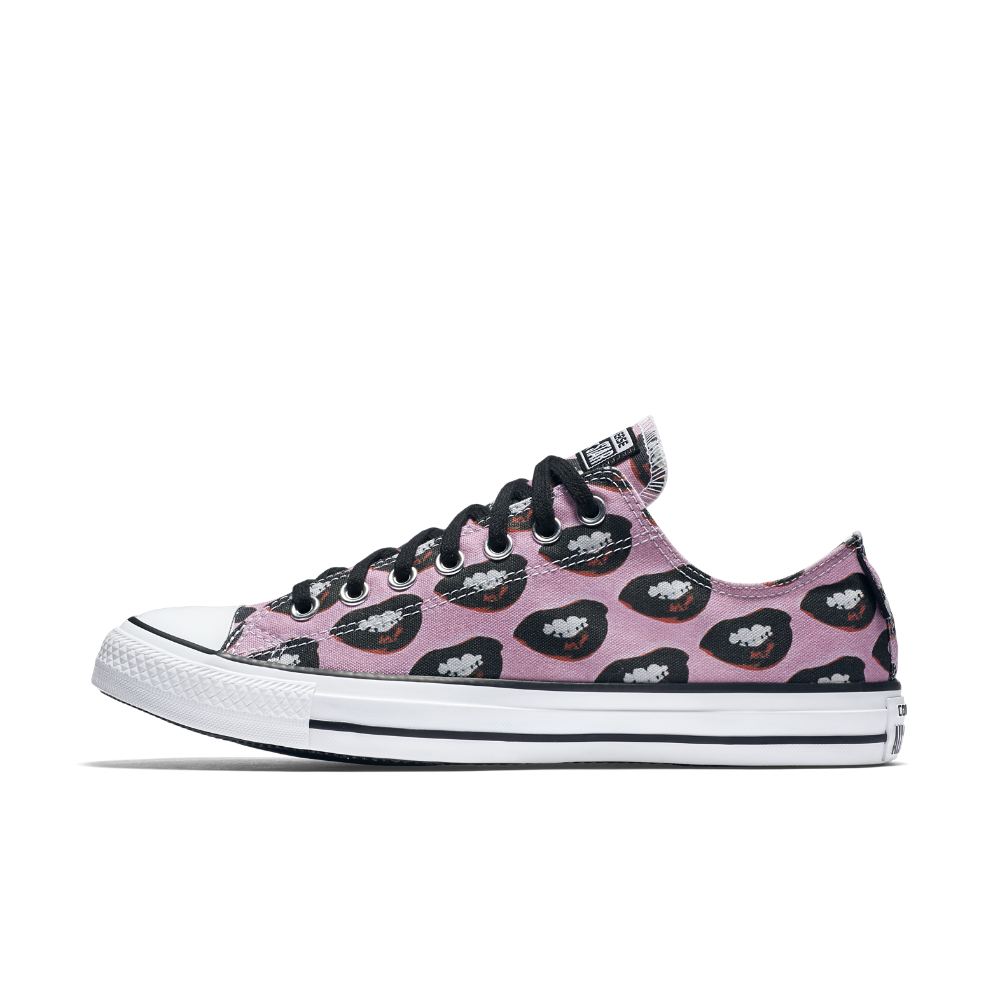 6b00bd02f5a ... Converse Chuck Taylor All Star Andy Warhol Marilyn Monroe Low Top Shoe  Size 9.5 (Pink ...
