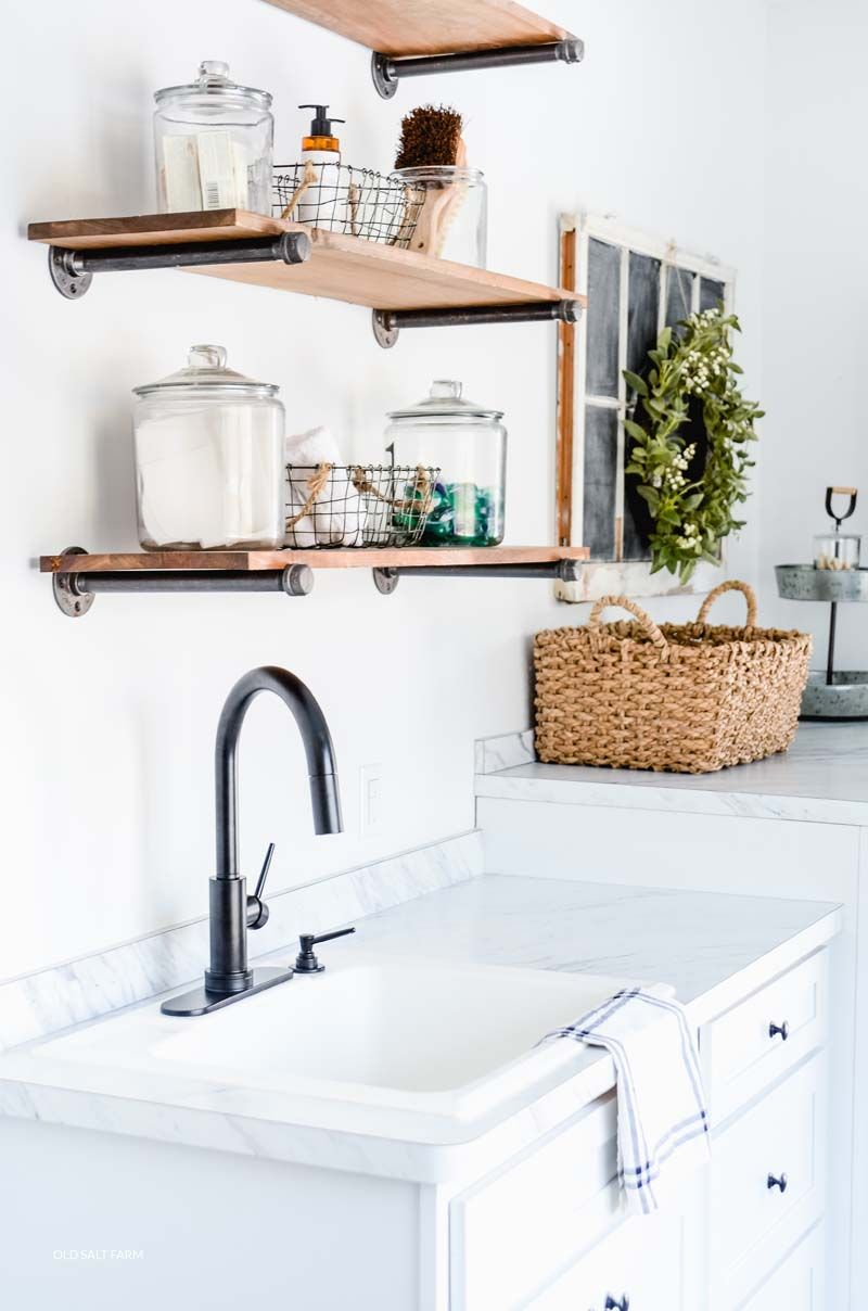 Why I Love My Laundry Room Faucet Old Salt Farm Kitchen Faucet Laundry Room Laundry Room Renovation