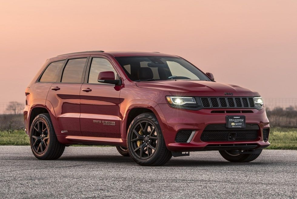 2018 Hennessey Jeep Trackhawk Hpe1000 Supercharged Jeep Grand