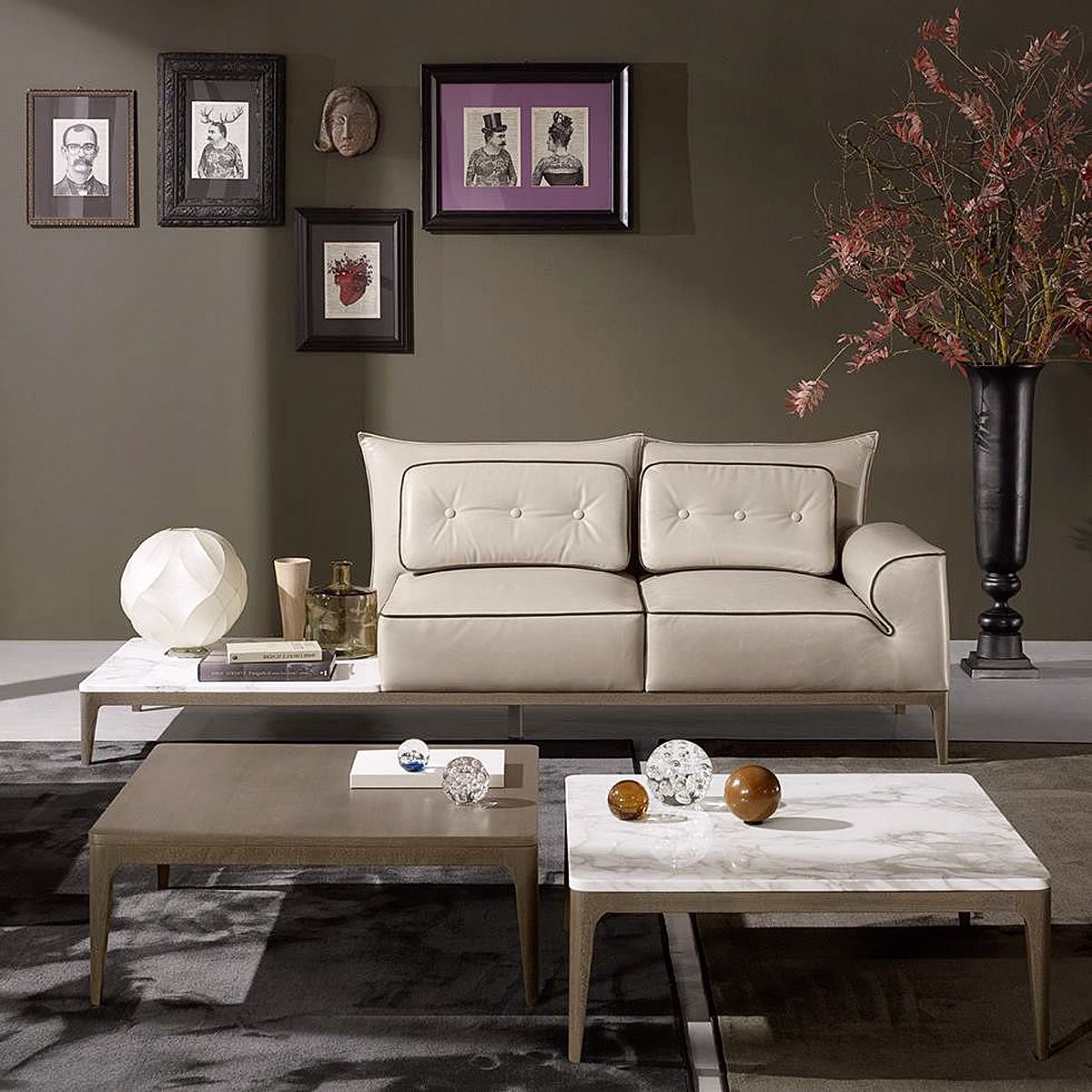 Polaris Designed For Living Srl mivida sofa and coffee table collection _design by angelo