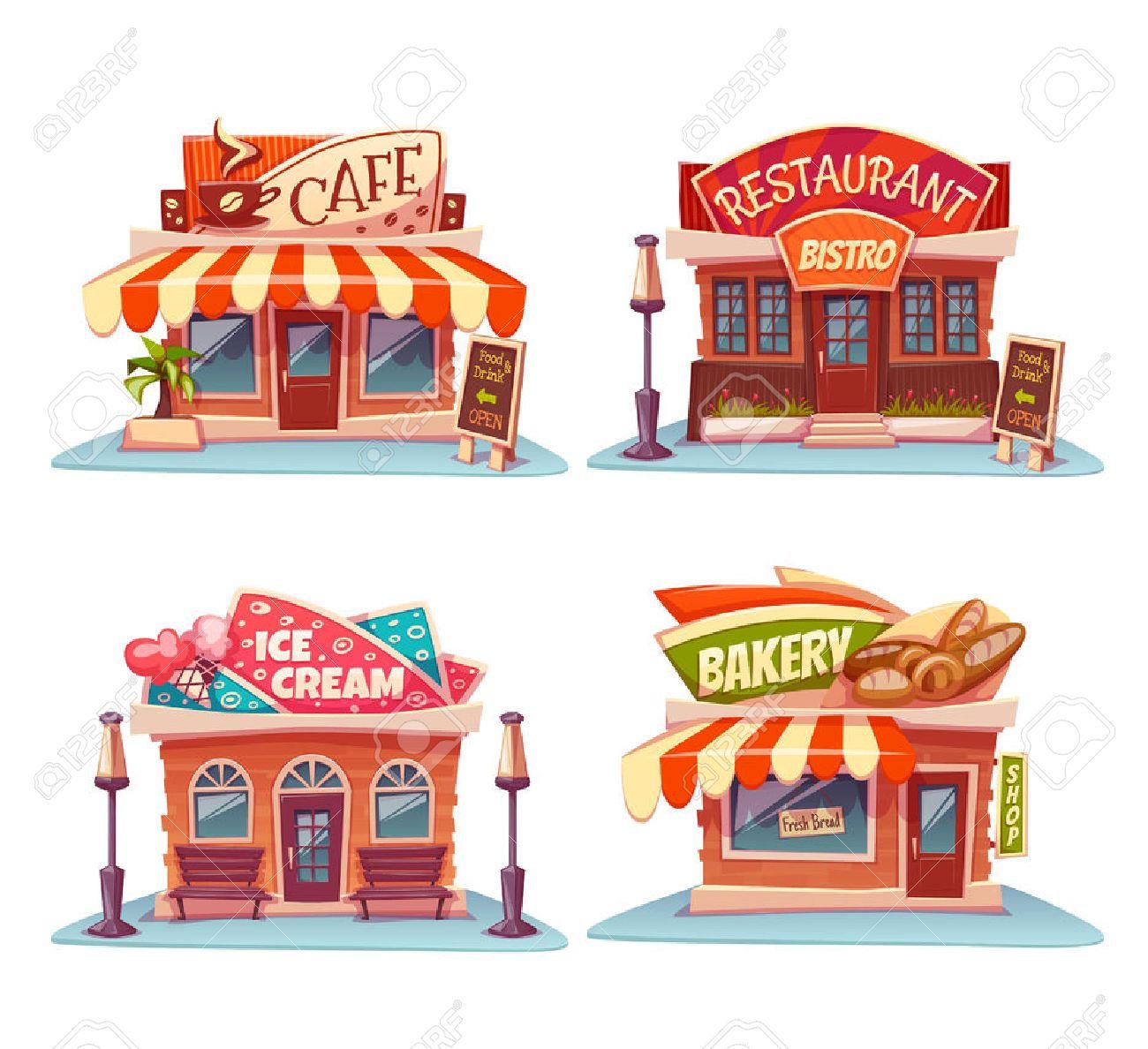 Картинки по запросу restaurant clipart Illustrazioni