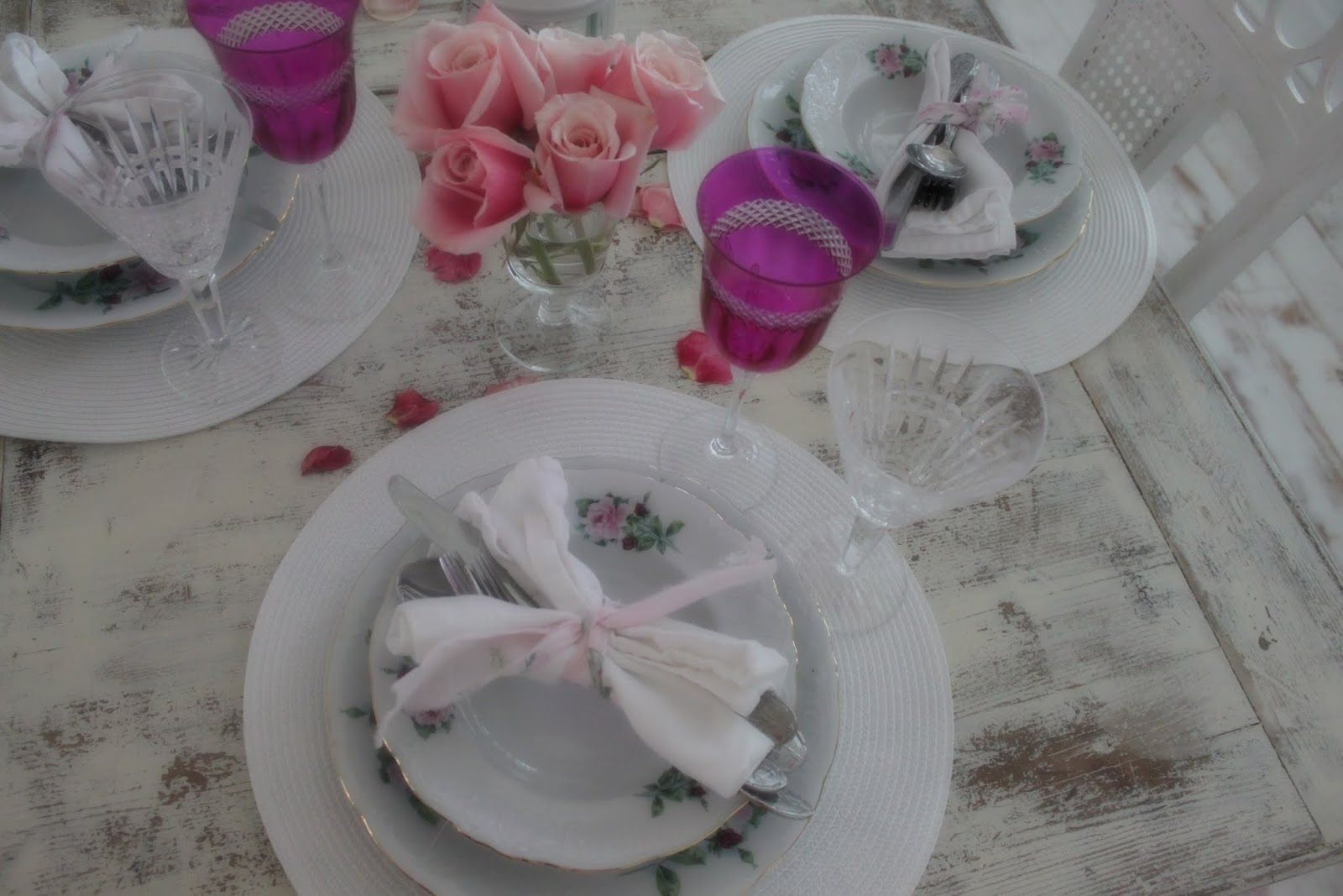 Shabby Chic Dinner Party