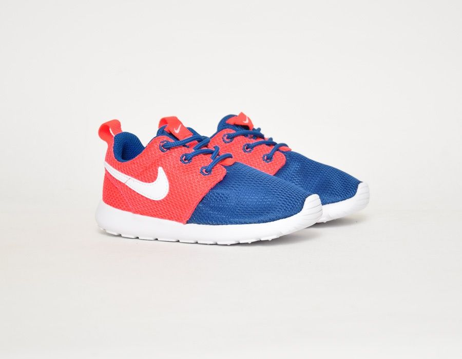 brand new 3794c df30a  Nike Roshe Run Baby Blue Red  sneakers