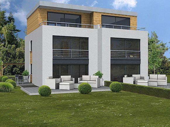 Häuser vom Typ Doppelhaus von invivo haus