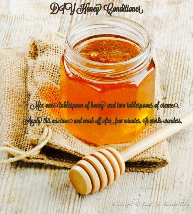 DIY Honey Conditioner