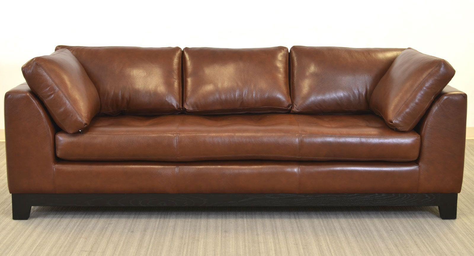 vintage leather sofa company ashton next usa made the arcadia furniture in manufacturing