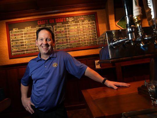 The Famished Frog\/HOPS craft beer bar General Manager John Dourney - bar manager