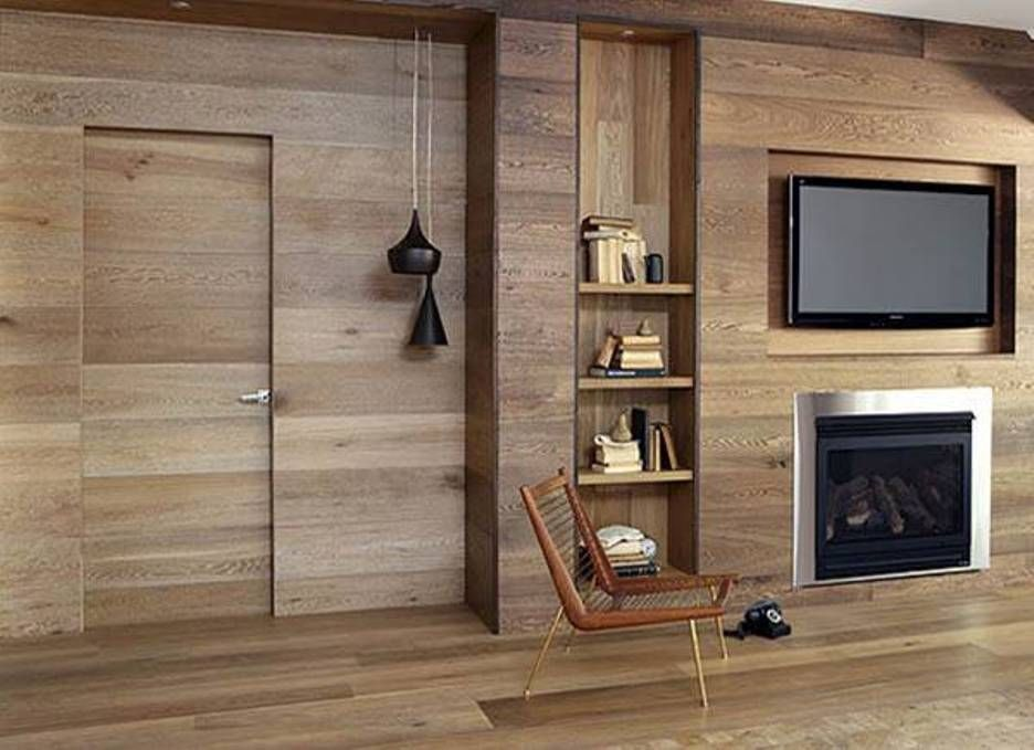 Home Design and Decor Home Interior Wall Cladding Ideas Wood