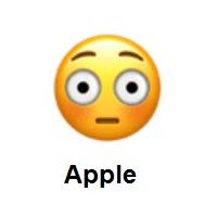 Meaning Of Flushed Face Emoji Emoji Emoji Dictionary Emoji Design