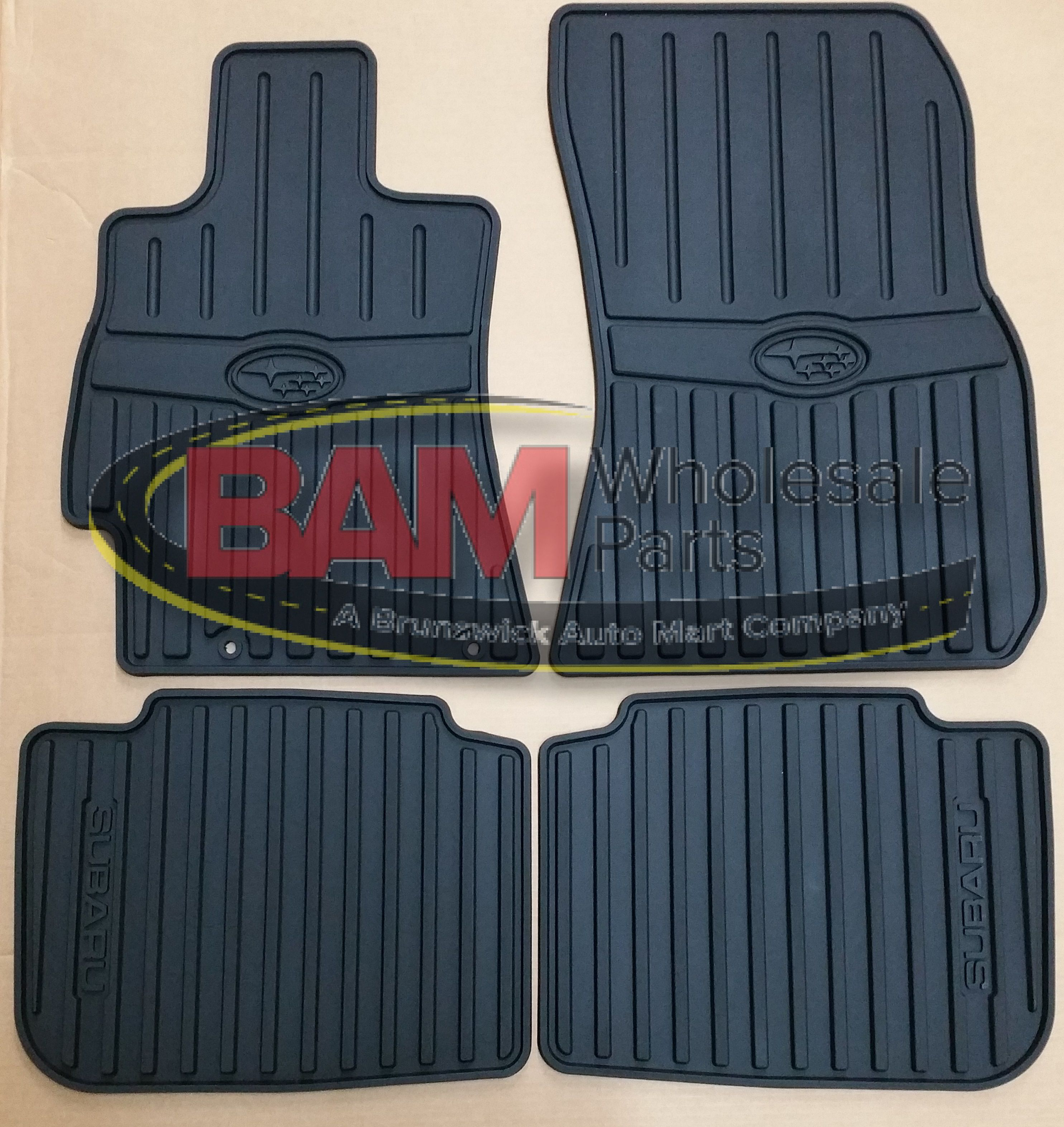 p subaru floor carpeted mats outback pkg part special appearance