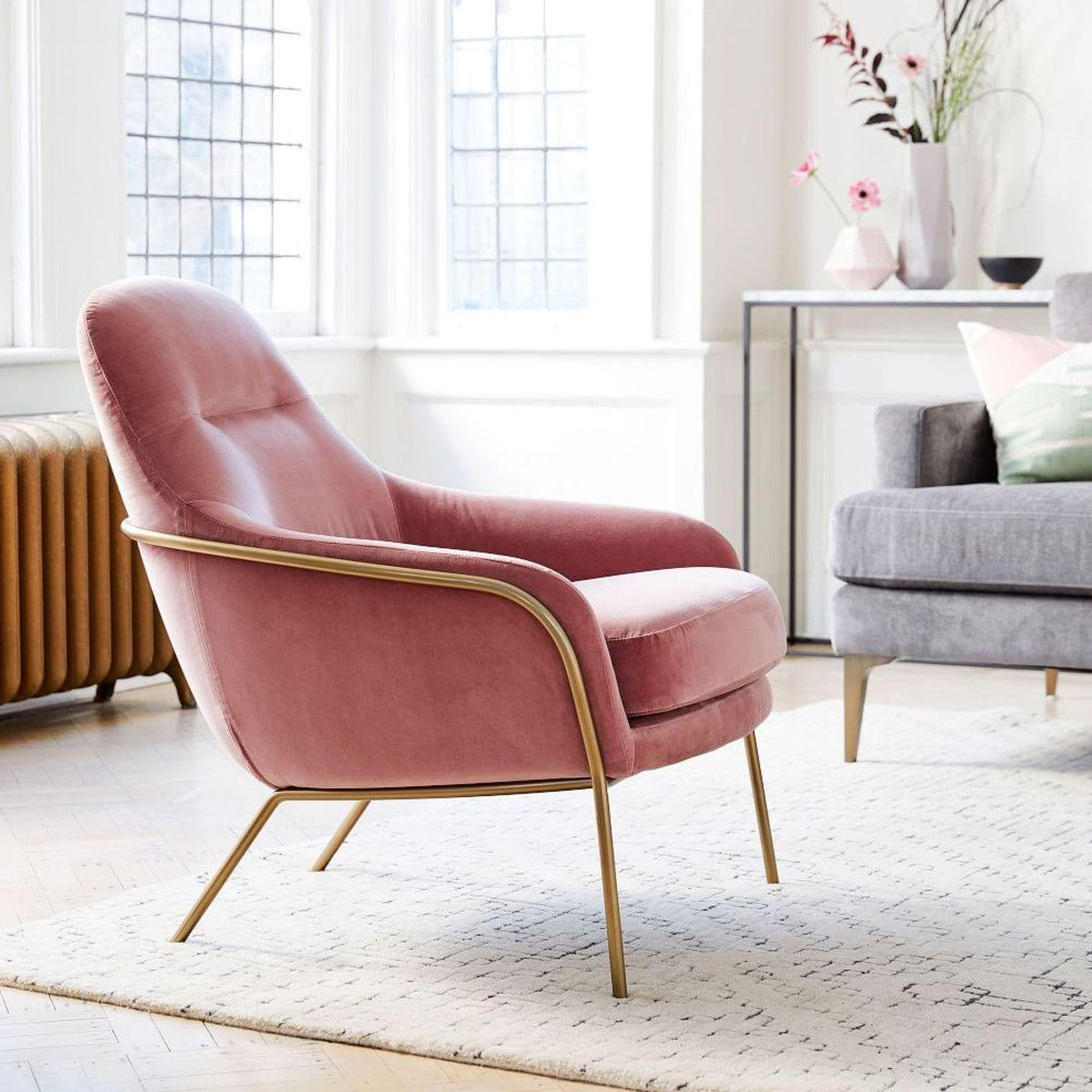 Best Valentina Chair West Elm Canada Living Room Chairs 400 x 300