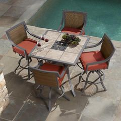 Palmetto 5 Piece Patio High Dining Set   Limited Availability   Sears