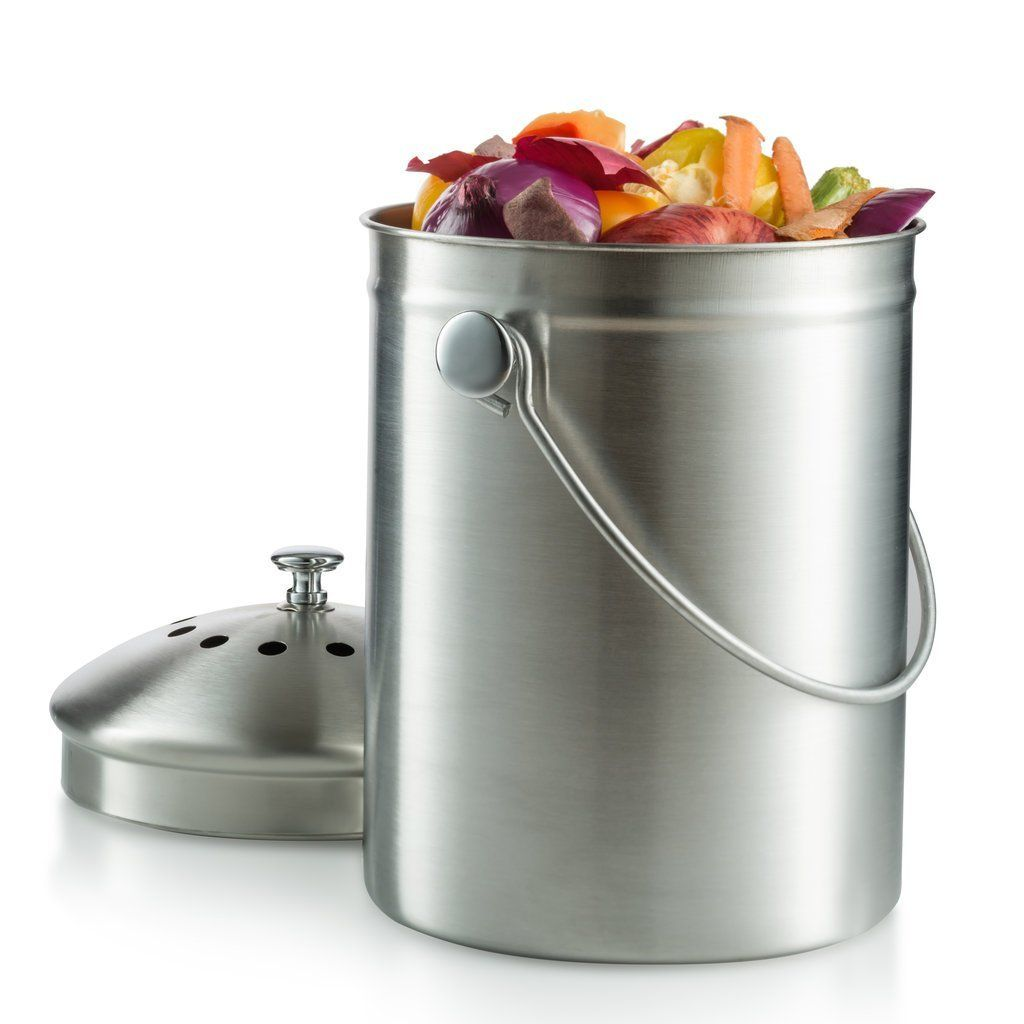Compost Bin Kitchen Compost Bin Compost Pail 1 Gallon Kitchen