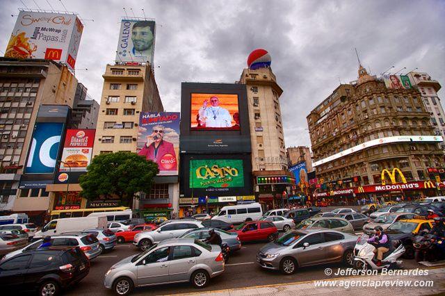 O Papa é Argentino e pop em Buenos Aires