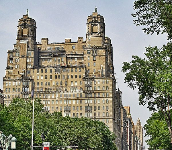 Central Park Apartments New York: The Beresford At 211 Central Park West New York City