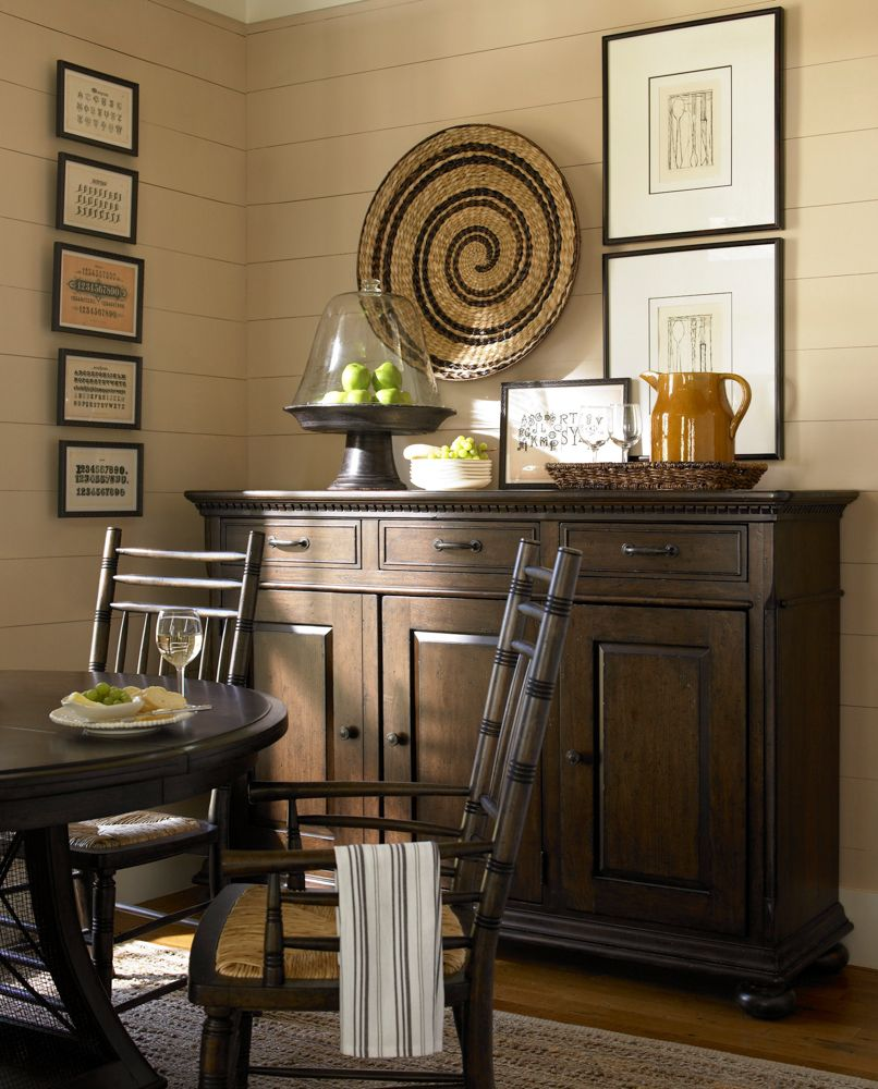 Universal Furniture   Paula Deen Home   The Hostess Credenza In Molasses,  Available At Furnitureland