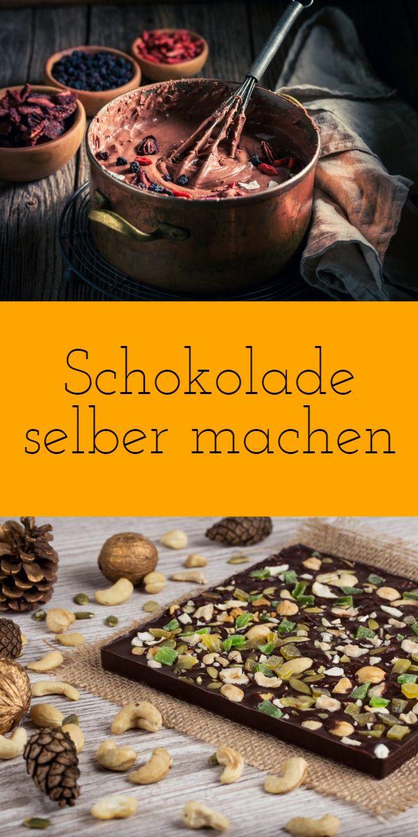 Schokolade selber machen - auf meinen Blog zeige ich dir wie du deine eigene Lieblingsschokolade zu Weihnachten oder auch als Geschenk selber machen kannst. Super schöne Geschenkidee Weihnachten und für jeden Chocaholic ein absolutes Muss!