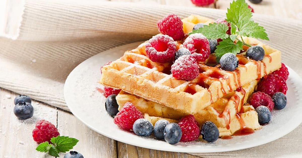 Low Carb Waffeln - Leckere Waffeln ohne Kohlenhydrate #proteinpowderpancakes