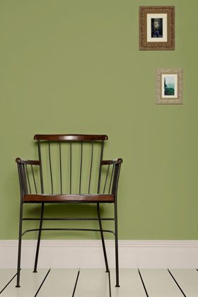 Kitchen Accent Wall Paint Color Olive Colours Farrow Ball Green
