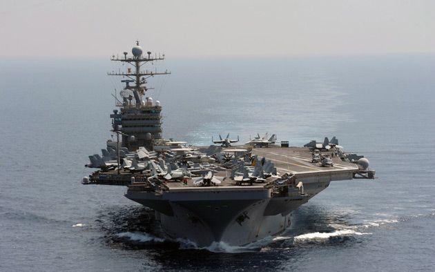 EE UU Acercó Sus Portaaviones A Yemen Para Vigilar A Barcos Iraníes