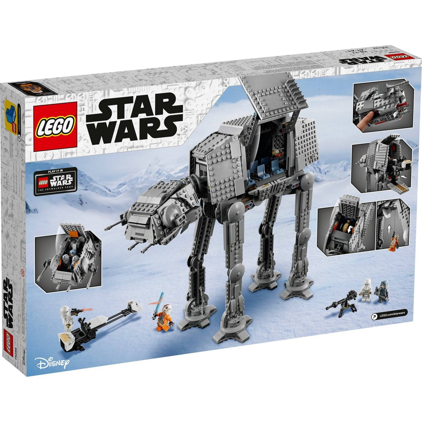 Lego Star Wars At At Building Kit Awesome At At Walker Building Toy For Creative Play 75288 In 2021 Star Wars Set Classic Star Wars Lego Star Wars Sets