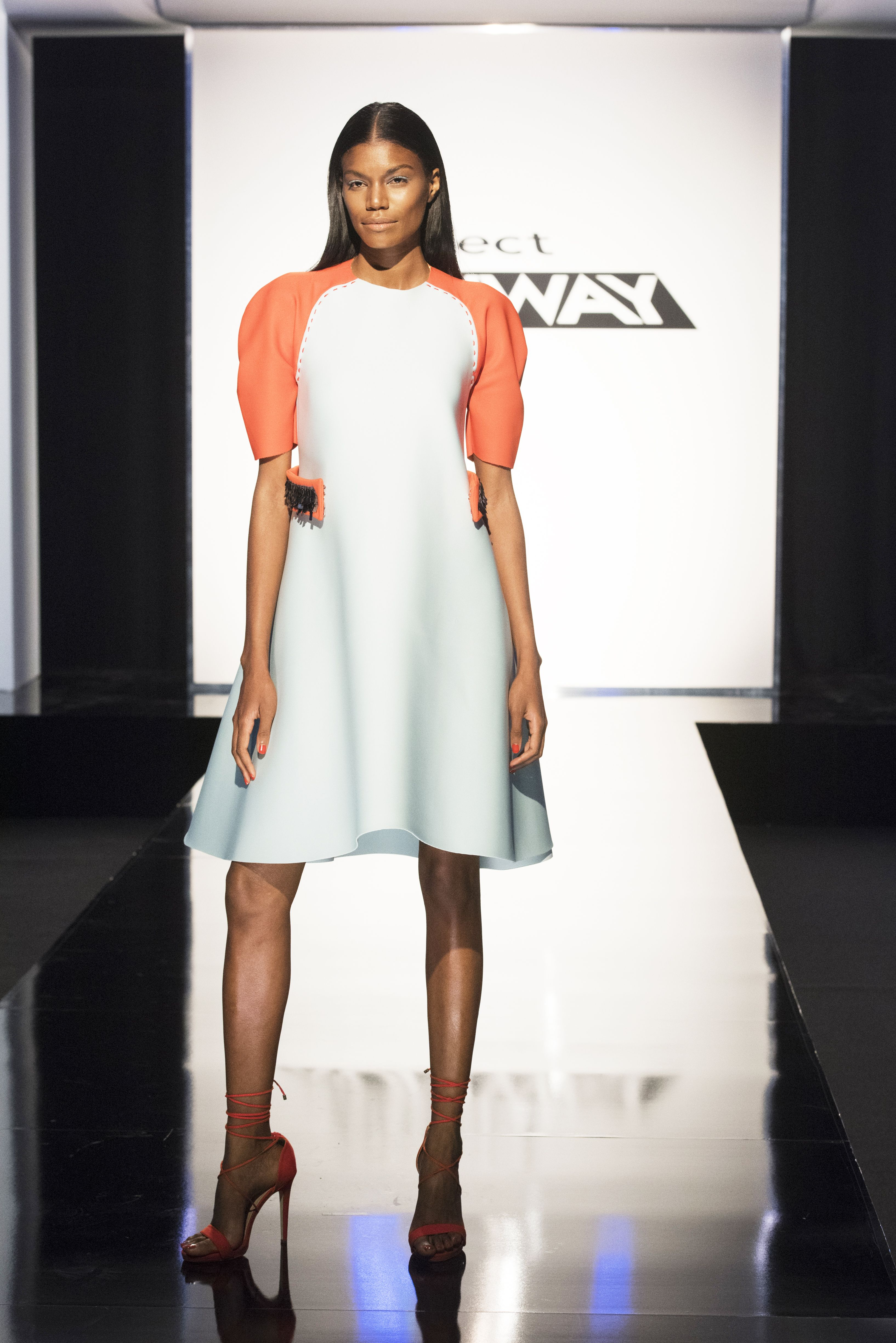 Project Runway Recap What Does The Everyday Woman Wear Project Runway Dresses Runway Fashion Erin Robertson Project Runway
