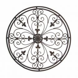 Tuscan Wrought Iron Metal Wall Grille