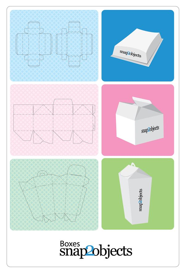Free Merchandising Box Templates V