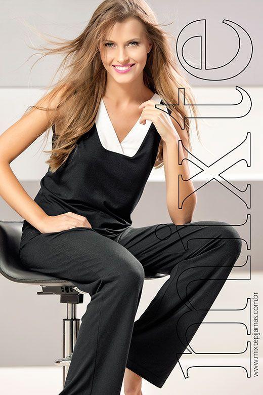 MIXTE PIJAMAS  mixte  pajamas  pijamas  lindaemcasa  sleepwear  fashion 5484b4f6e
