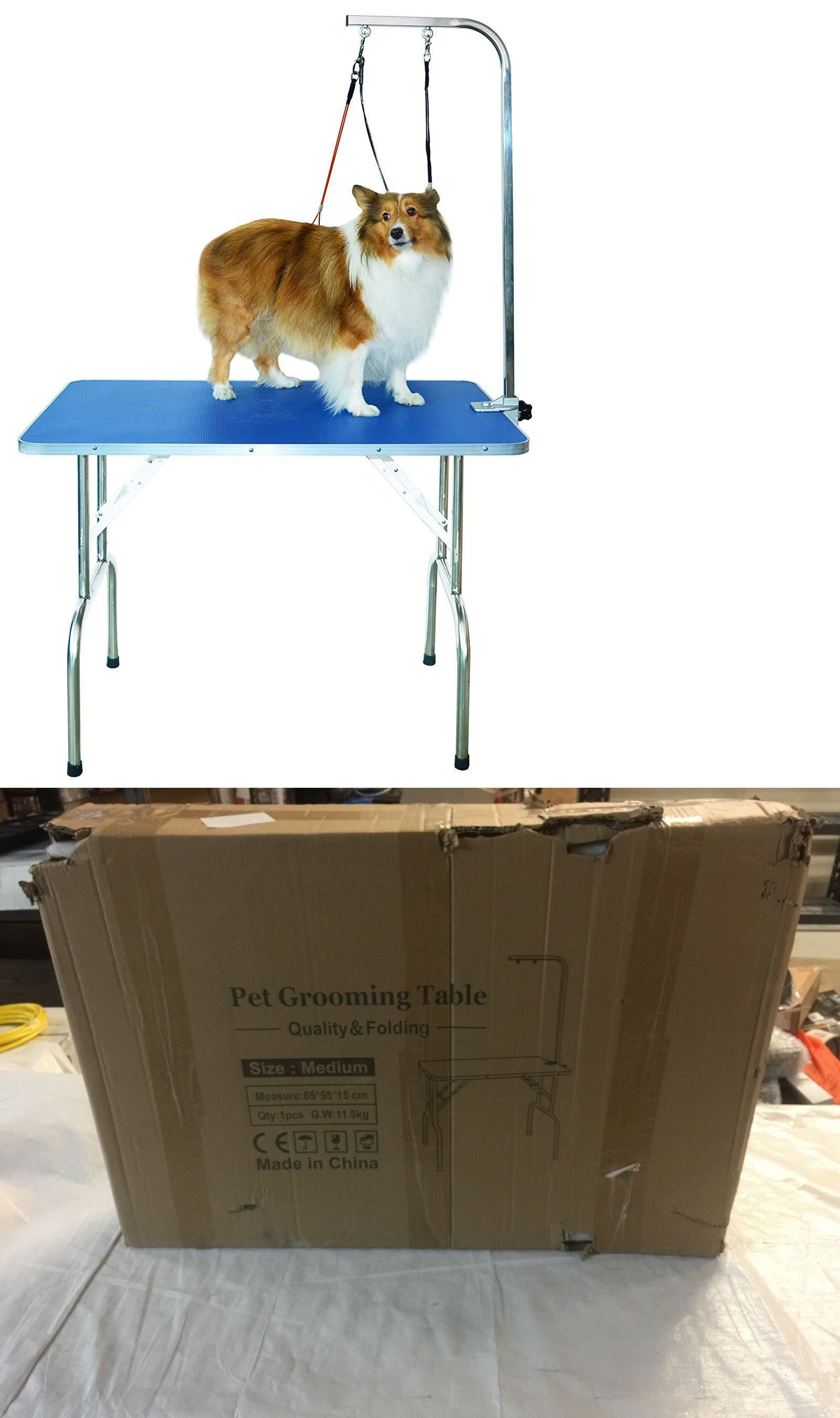 Grooming Tables 146241 Shelandy Professional Pet Grooming Table With Double Leashes And Clamp Buy It Now Only 64 99 On Ebay Pet Grooming Pets Grooming