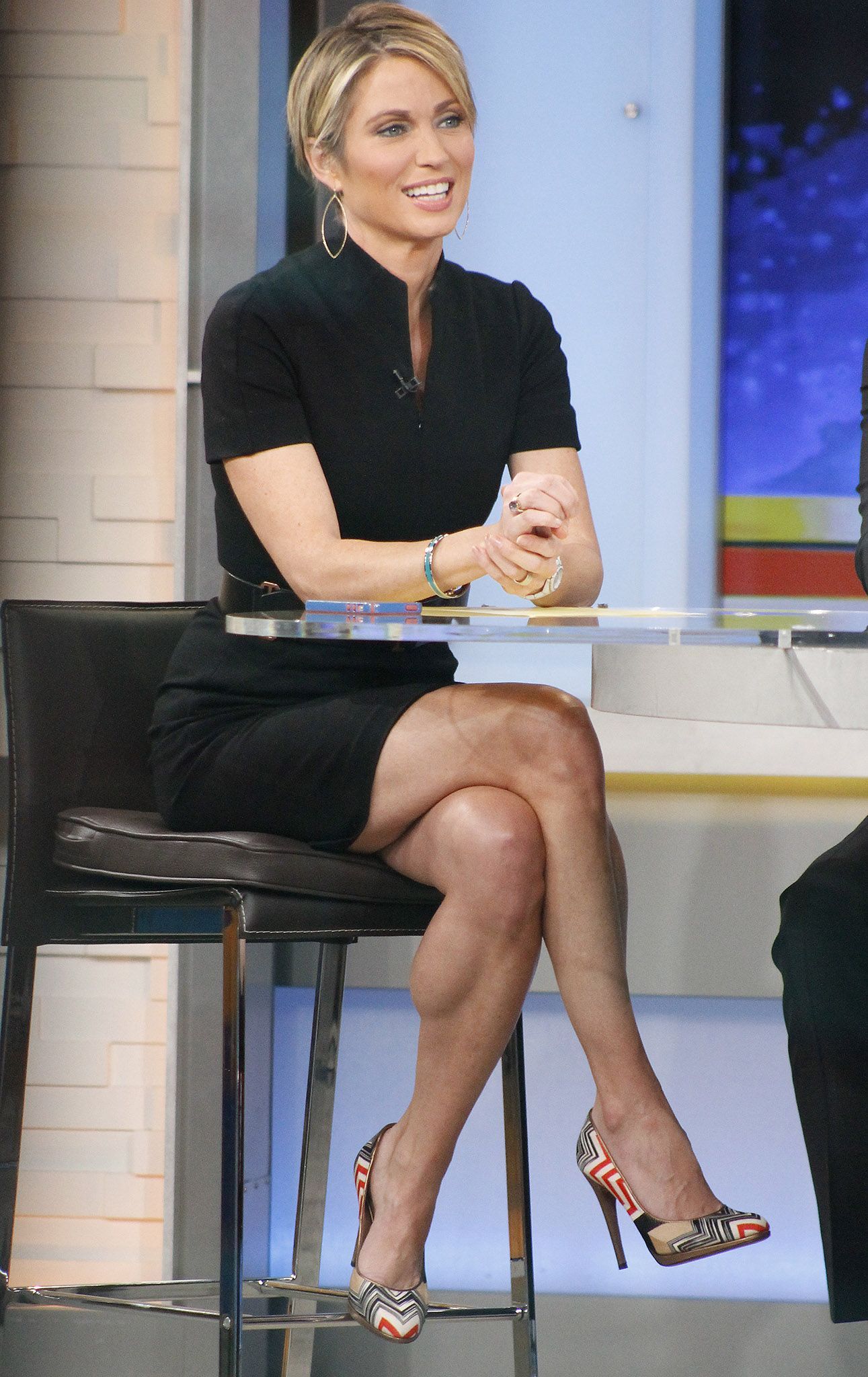 Amy Robach From Good Morning America Amy Robach Sports Hairstyles Female Crossfit Athletes