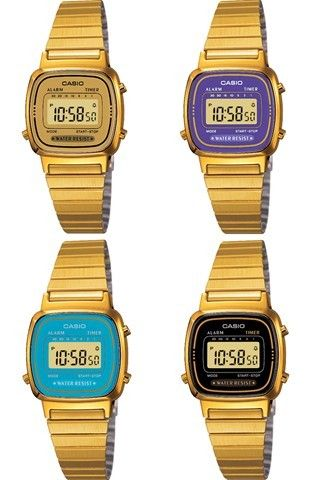 ab522c8968d NEW Gold Casio Watch Ladies Mini EXTRA colours WOW