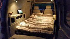 Simple But Cozy Camper Van Interior Ideas