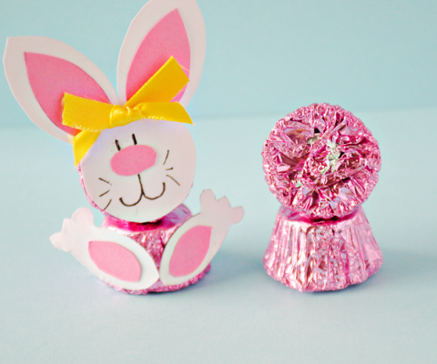 Reeses peanut butter easter bunnies crafts reeses