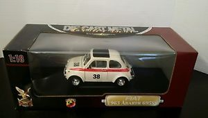 Die Cast Metal Collection Deluxe Edition Fiat 1963 Abarth 695ss 1