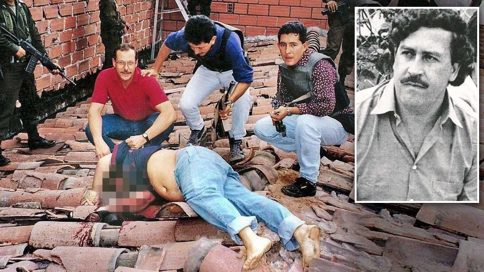 Pablo Escobar Vs Chapo >> Image result for pablo escobar death | Classic Gangsters | Pinterest | Pablo escobar death and ...