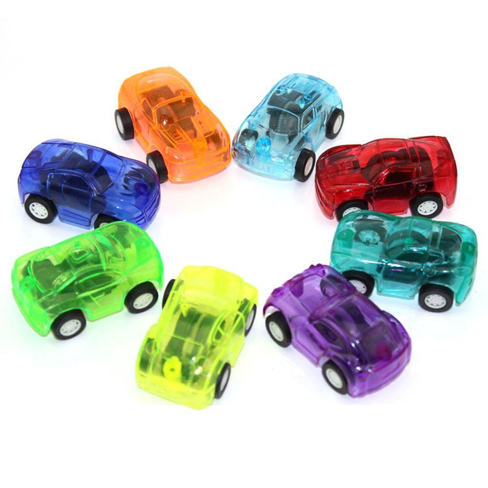 unids beb lindo juguete de plstico cars cars toys tire hacia atrs para nio ruedas