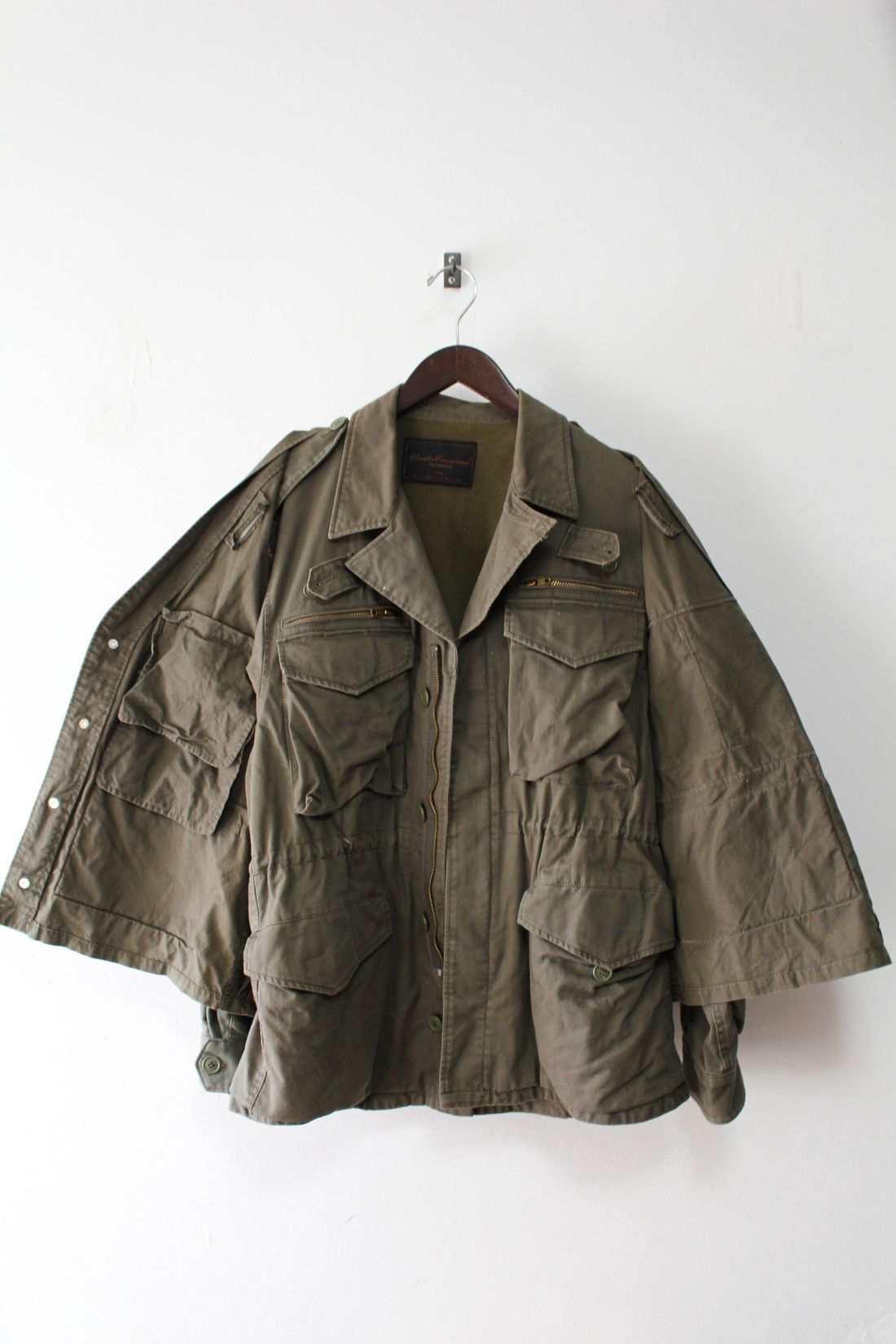 faa73cf06cee Undercover M51 Field Military Jacket + Ripstop Utility Vest Size M  582 -  Grailed