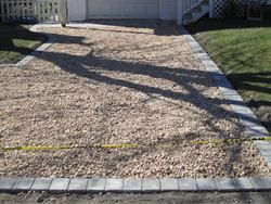 Askin Masonry Pictures Manorville Ny Gravel Driveway