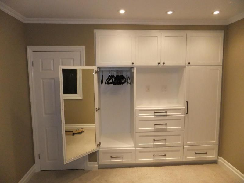 Built In Wall Closets Built In Closets With Wall Lights Build