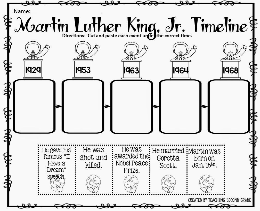 worksheet Mlk Worksheets the best of teacher entrepreneurs martin luther king jr school jr