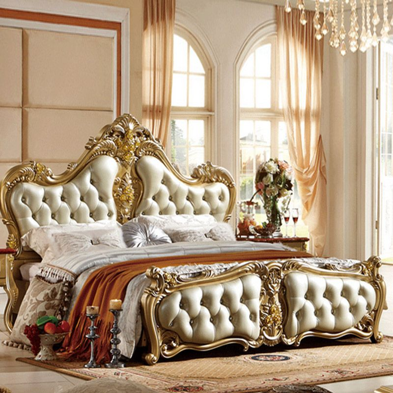 New European-style bed French bed 18 m marriage bed upscale