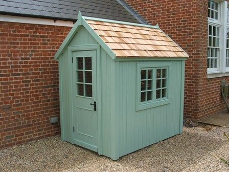 Potting shed 7ft x 5ft cedar shingle roof wowthankyou for Cedar shingle shed