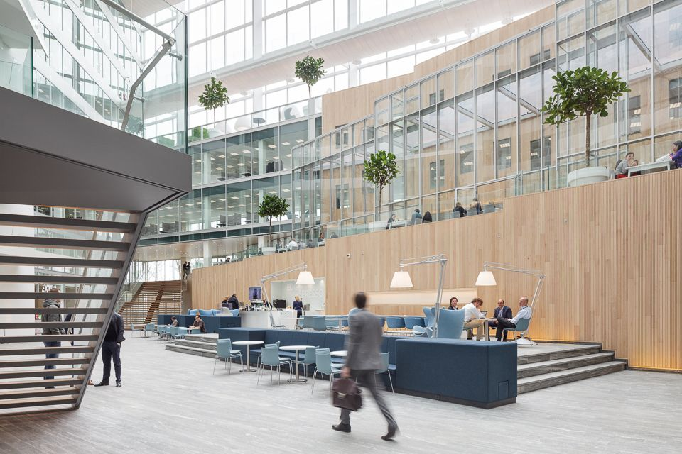 Ahrend Kantoormeubelen Amsterdam.Deloitte The Edge By Ahrend Design In 2019 Projects Space