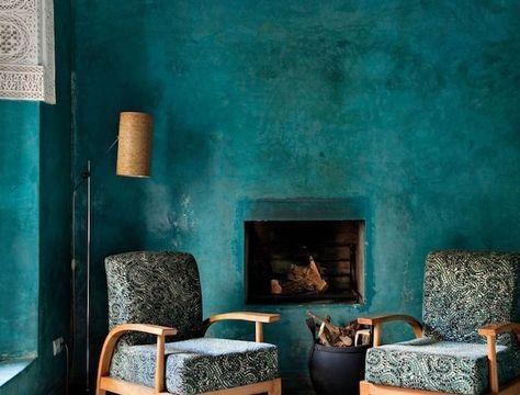 ▷ 1001 + conseils et idées comment adopter la couleur bleu pétrole - comment peindre une chaise