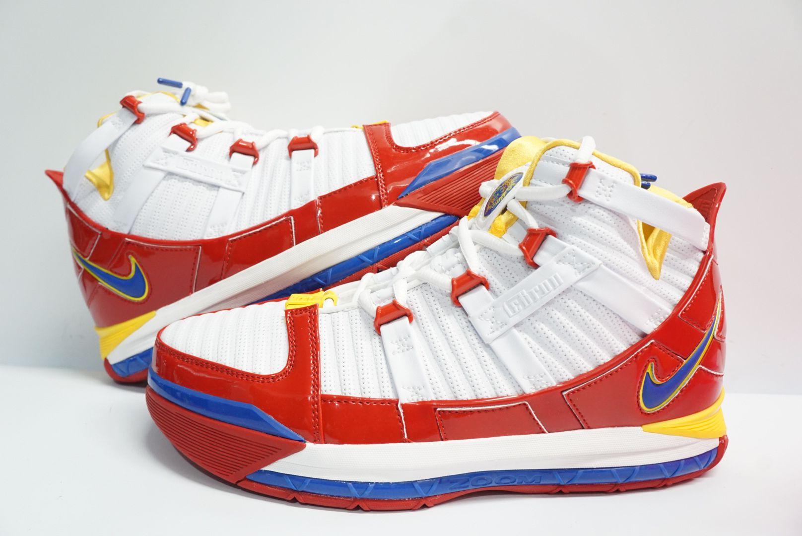 Nike Zoom LeBron 3 III 'SuperBron